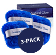 Natural Glow Body Bronzing Shimmer Puff (3 Pack)