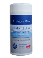 Natural Glow Instant Tan Towelettes